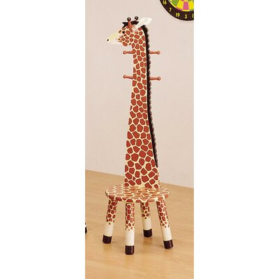 Safari Animal Kid's Stool