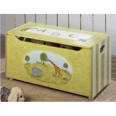 Teamson Kids Alphabet Children's Toy Box