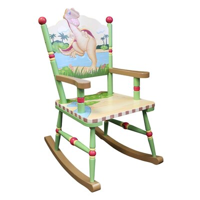 Teamson Kids Dinosaur Kingdom Children's Rocking Chair