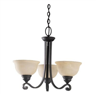 Sea Gull Lighting Serenity 3 Light Chandelier