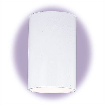 Sea Gull Lighting 9&quot;  White Outdoor Ceiling Mount