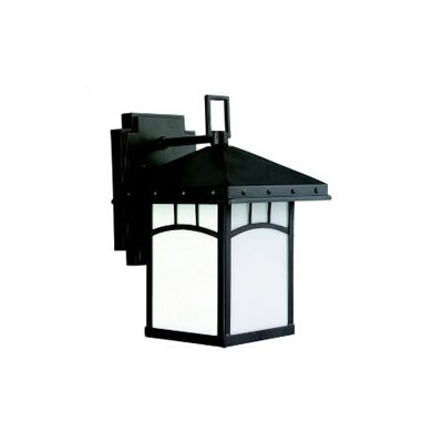 Sea Gull Lighting Ashville Straight 1 Light Outdoor Wall Lantern
