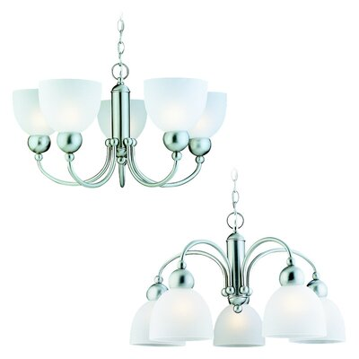 Sea Gull Lighting Metropolis 5 Light Chandelier