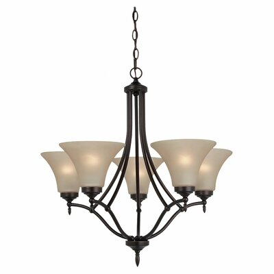 Sea Gull Lighting Montreal 5 Light Chandelier