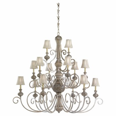 Sea Gull Lighting Highlands 15 Light Chandelier