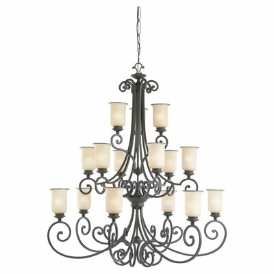 Sea Gull Lighting Acadia 15 Light Chandelier