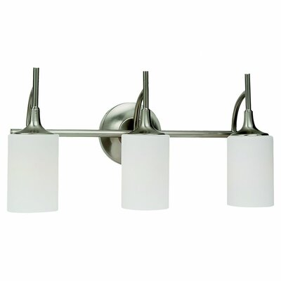 Sea Gull Lighting Stirling 3 Light Bath Vanity Light