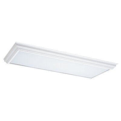 Sea Gull Lighting Wood Cornice Fluorescent Trim