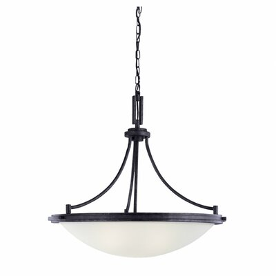 Sea Gull Lighting Winnetka 4 Light Inverted Pendant
