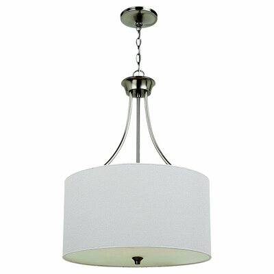 Sea Gull Lighting Stirling 3 Light Drum Pendant
