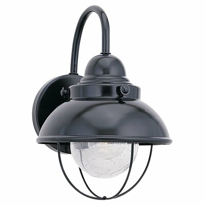 Sea Gull Lighting Sebring 1 Light Outdoor Wall Lantern