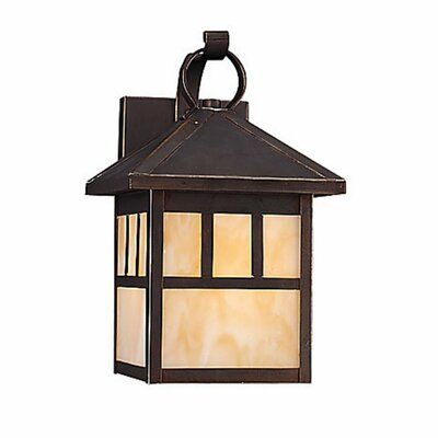 Sea Gull Lighting Prairie Statement 1 Light Outdoor Wall Lantern