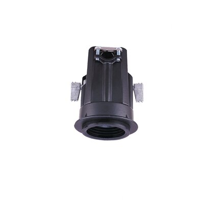 Sea Gull Lighting Ambiance® Black Miniature Recessed Lighting Housing with Trim