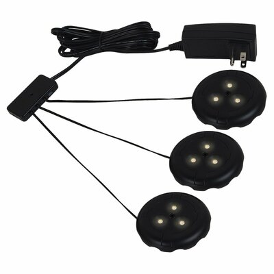 Sea Gull Lighting Ambiance LED 3 Puck Light Kit