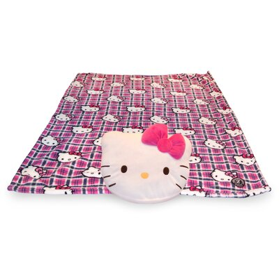 Zoobies Blanket Pet Hello Kitty in White