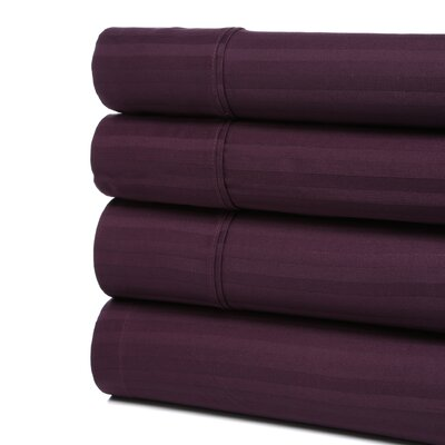 Simple Luxury 300 Thread Count Egyptian Cotton Stripe Sheet Set
