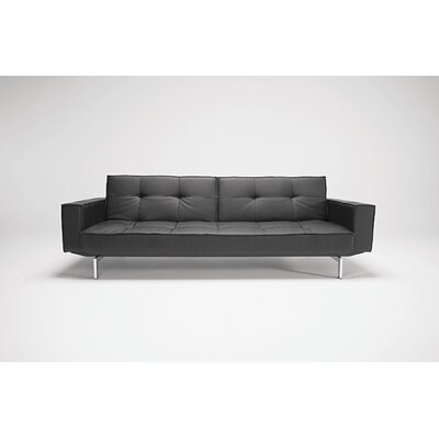 Innovation USA Oz Deluxe Leather Convertible Sofa