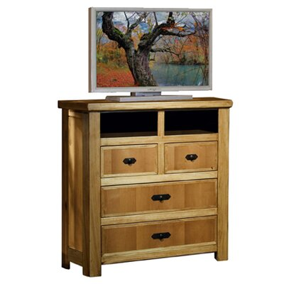 Lodge 100 4 Drawer Media Chest