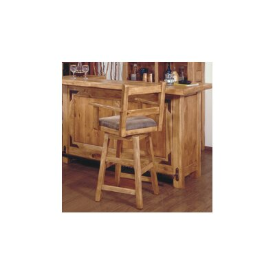 Artisan Home Furniture Lodge 100 Arm Swivel Barstool