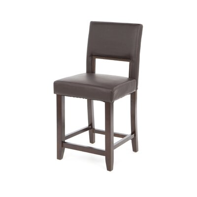 Linon 24&quot; Vega Counter Stool in Espresso