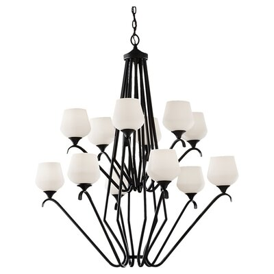 Feiss Merritt 12 Light Chandelier
