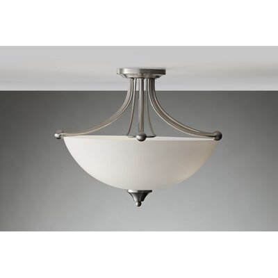 Feiss Morgan 3 Light Semi Flush Mount