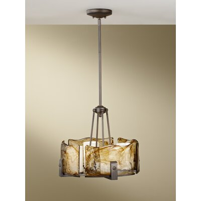 Feiss Aris 4 Light Chandelier