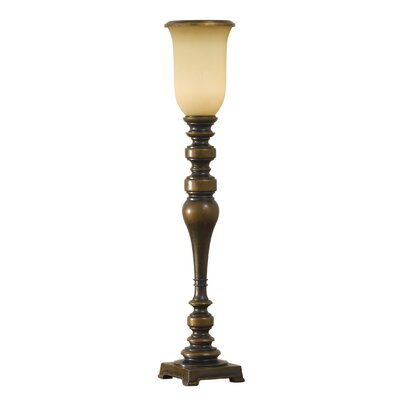 Feiss Lincolndale 1 Light Table Torchiere Floor Lamp