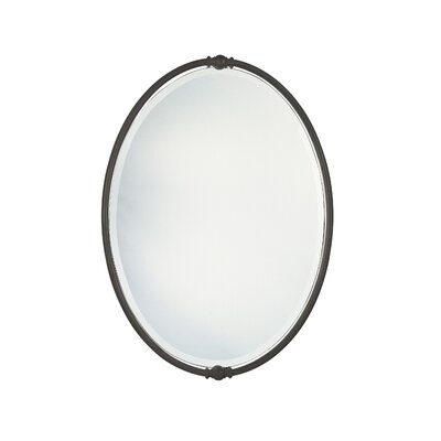 Feiss New London Beveled Mirror in Oil Rubbed Bronze