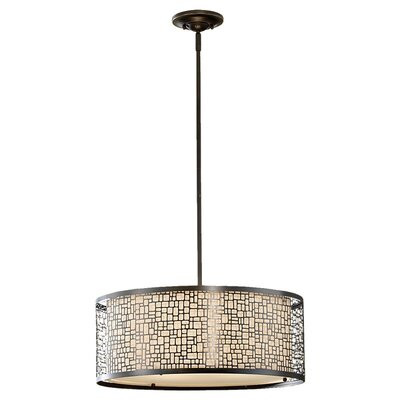 Feiss Joplin 3 Light Drum Pendant