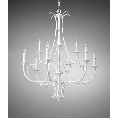 Peyton Saltspray 9 Light Chandelier