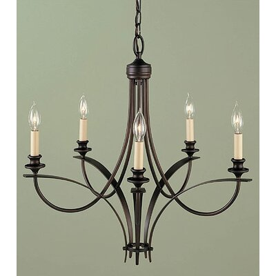 .4Boulevard 5 Light Chandelier