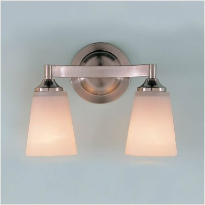 Feiss Paris Moderne  Vanity Light in Brushed Steel