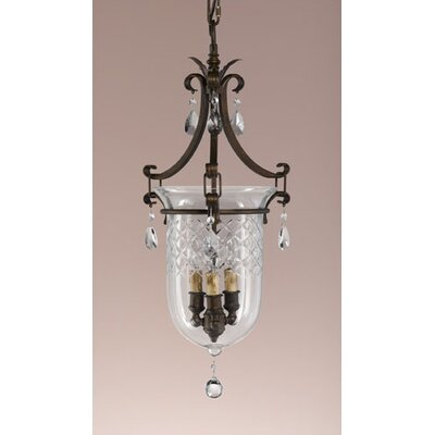 Feiss Salon Ma Maison 3 Light Foyer Pendant