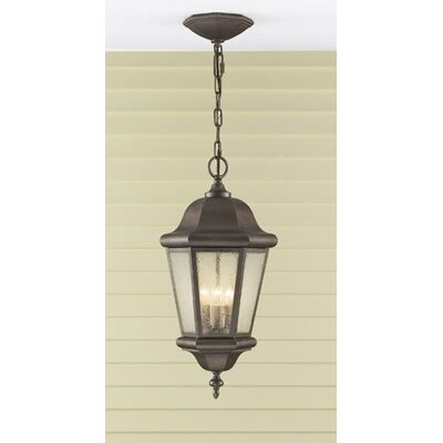 Feiss Martinsville  Outdoor Hanging Lantern in Corinthian Bronze