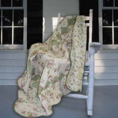 Greenland Home Fashions Bliss Cotton Throw