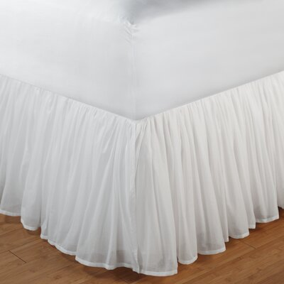 Greenland Home Fashions Cotton Voile Bedskirt