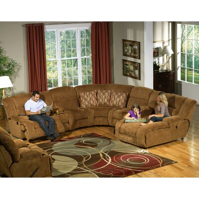 Catnapper Enterprise Reclining Sectional