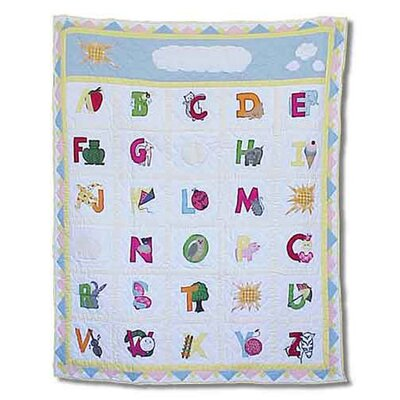 Patch Magic ABC Throw Quilt