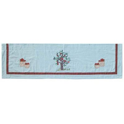 Patch Magic Apple Cart Cotton Rod Pocket Tailored Curtain Valance