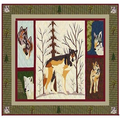 Patch Magic Call of The Wild Cotton Shower Curtain
