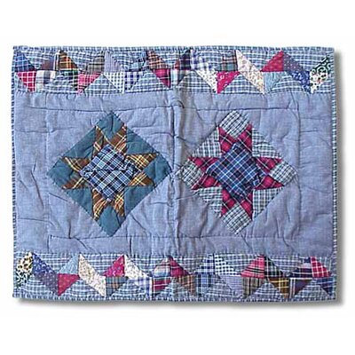 Patch Magic Denim Burst Standard Pillow Sham