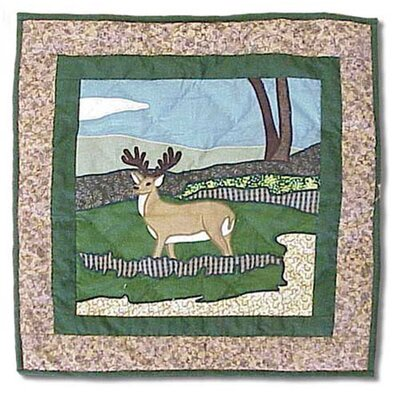 Patch Magic Wilderness Deer Toss Pillow