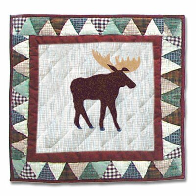 Patch Magic Mountain Whispers Moose Toss Pillow