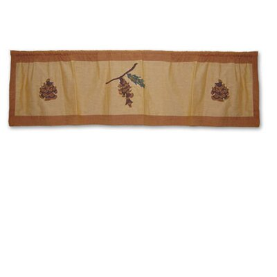 Patch Magic Pinecone Curtain Valance