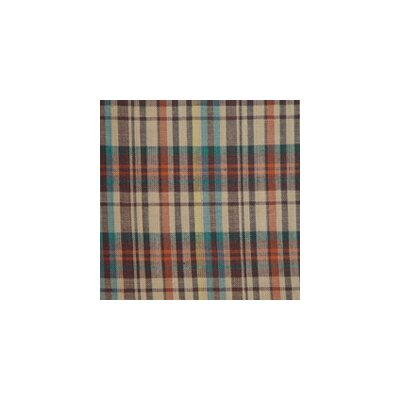 Patch Magic Multi Brown and Tan Plaid Pillow Sham
