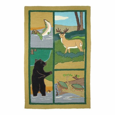 Patch Magic Wilderness Brown Kids Rug