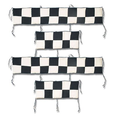 Patch Magic Racecar 4 Piece Bumper Pad Set