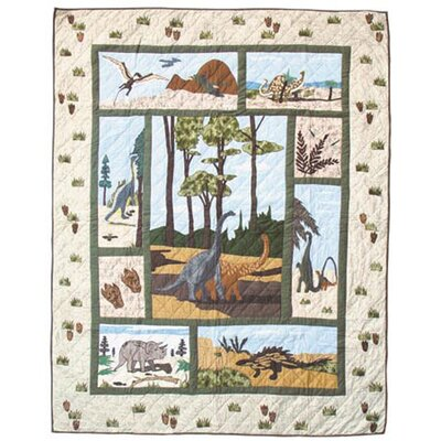 Patch Magic Dinosaur Quilt