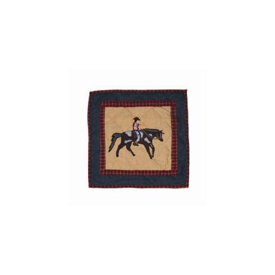 Patch Magic Shadow Rider - Red Toss Pillow